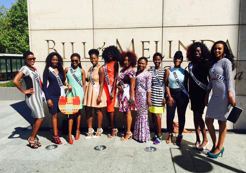 Queens' visit to the Bill and Melinda Gates Foundation
