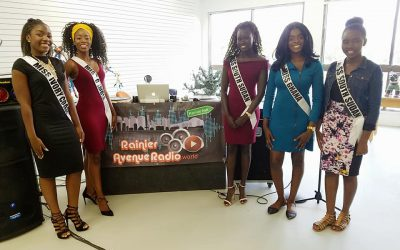 Interview at the Ranier Ave Radio Station