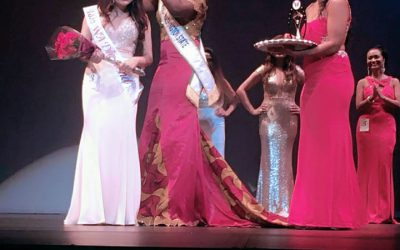 Our reigning queen at the Miss India Washington